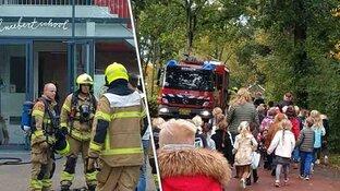 Brandoefening Bergense scholen bijna afgelast door echte melding