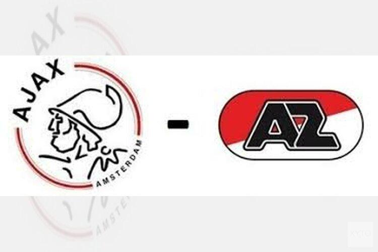 Ajax legt AZ over de knie