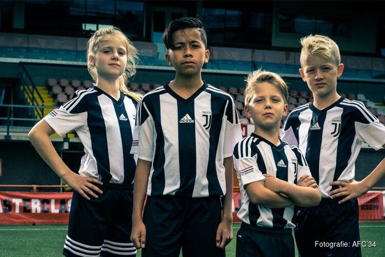 Juventus geeft masterclass voetbal bij AFC'34