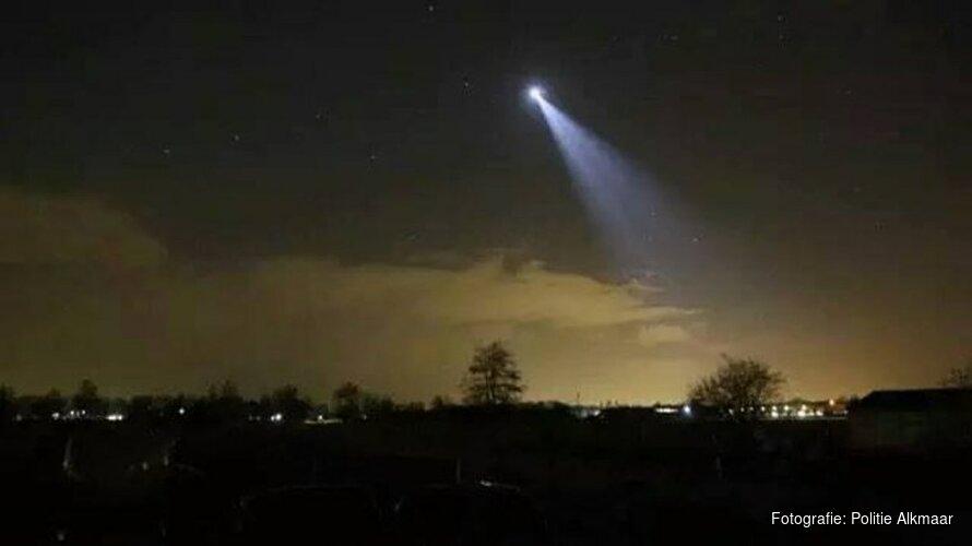 Agenten pakken vier verdachten met behulp van politiehelikopter en -hond