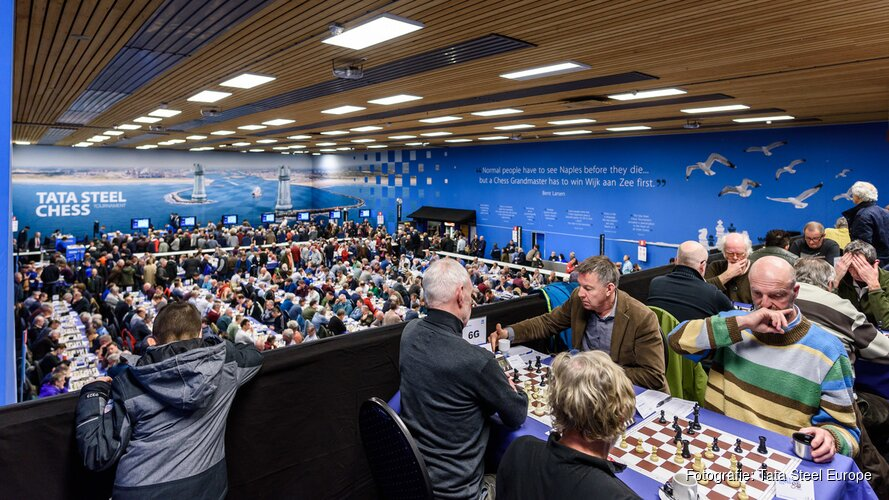 Inschrijving amateurs Tata Steel Chess Tournament 2019  start op 29 oktober