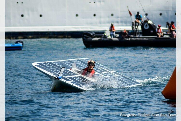 Student Wouter uit Alkmaar werkt met het TU Delft Solar Boat Team aan de eerste Nederlandse zonneboot voor op open zee