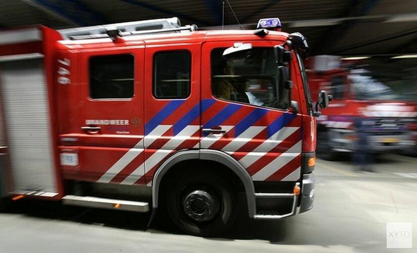 Autobrand op de Amalia van Solmsstraat