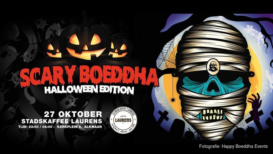 Scary Boeddha: Halloween Edition op 27 oktober 2018