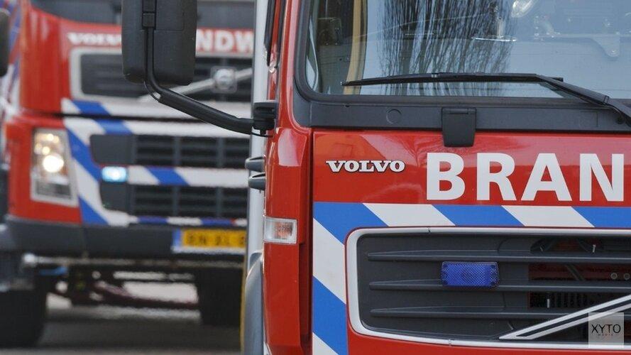 Autobrand op de Hazelaar in Heiloo