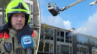 """Buurt geschrokken van ontploffing in Alkmaarse flat: """"Rookwolken spoten uit gebouw"""""""