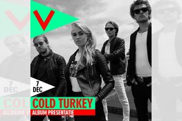 Albumrelease Cold Turkey in Podium Victorie: Nog twee weken!