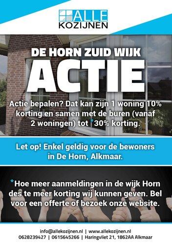 Alle Kozijnen start wijkactie in Alkmaar