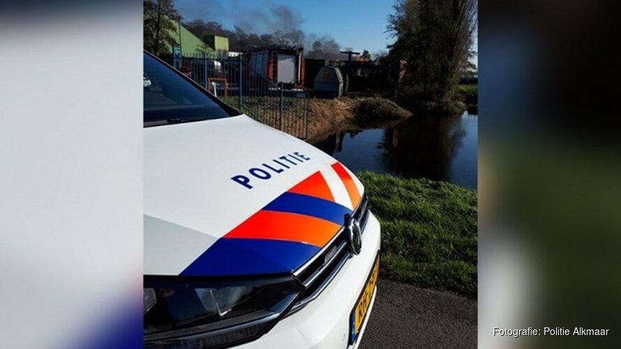 Zes automobilisten op de bon na filmen brandend transformatorhuis Alkmaar
