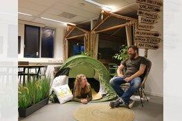 Kantoortuin verandert in kampeerterrein bij Vacanceselect