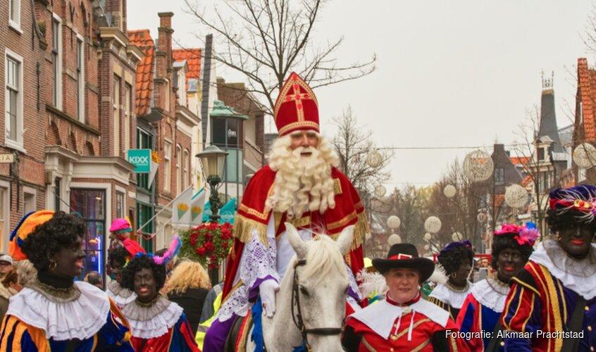 Intocht Sinterklaas in gemeente Alkmaar