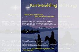 Kerstwandeling in Alkmaar Noord