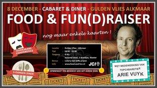 Drie gangen cabaret voor mindervalide kinderen