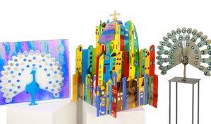 Anne Hoogland – Schittert met zijn Glasfusion en Bronzen kunstwerken op de Masters of LXRY
