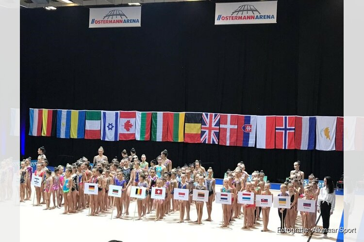Ritmisch gymnasten van Ritmica RG Club gaan internationaal
