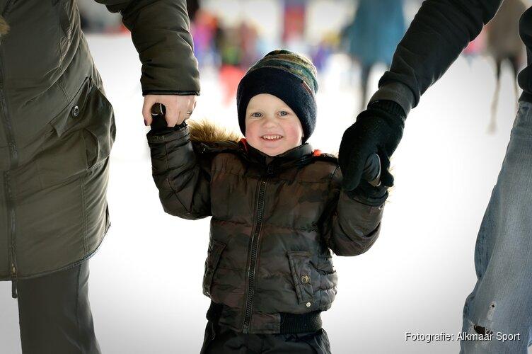 Alkmaarse ijsbaan swingt tijdens kerstvakantie