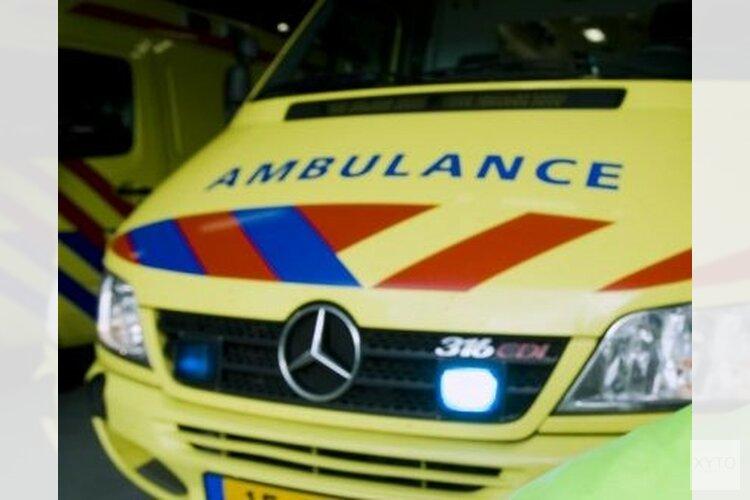 Man zwaar gewond in Bergen(video)