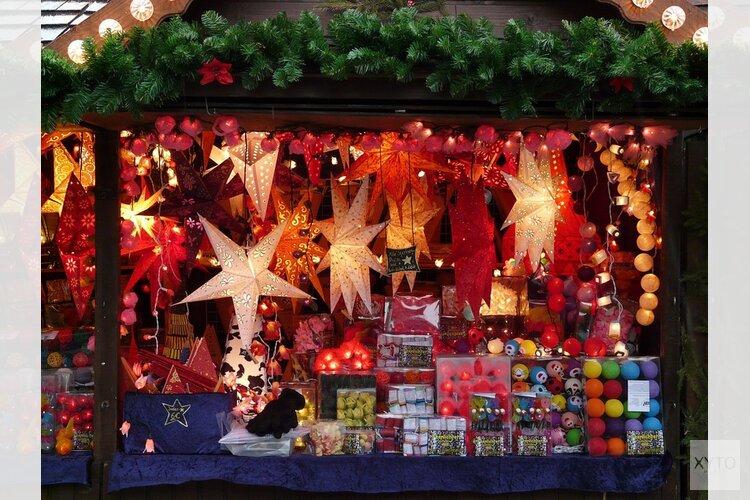 Vanaf donderdag kerstmarkt op Waagplein
