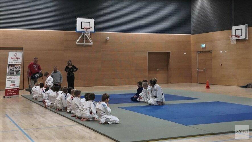 Judo bij de aankondiging van sportjaaroverzicht
