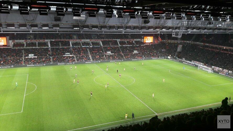 AZ ondanks sterke eerste helft onderuit bij PSV