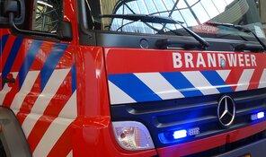 Brand in flatwoning Alkmaar(video)