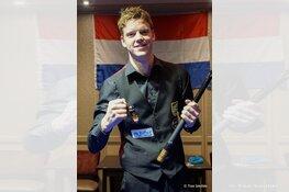 Sam van Etten Nederlands Kampioen 71/2 en ticket voor EK