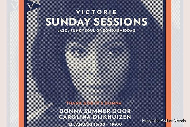 Zondag 13 januari de tweede editie van Victorie Sunday Sessions