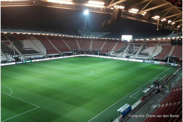 AZ heeft op één na beste veld van Eredivisie