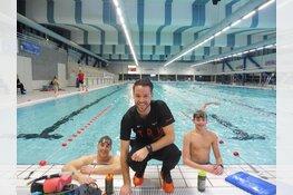 Talent in zwembad Hoornse Vaart