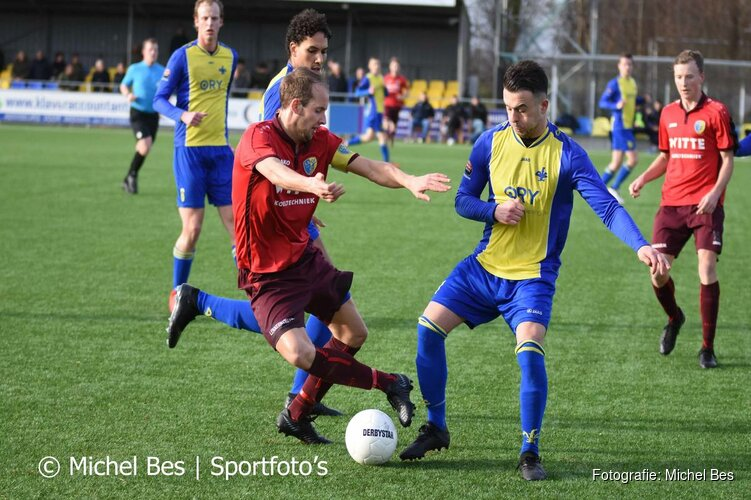 Remco Reinhard kopt LSVV langs AFC'34