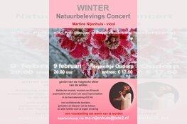 Concert met natuurbeelden op 9 februari in Terpkerkje Oudorp