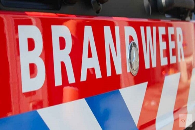 Scooterbrand in Percivalstraat