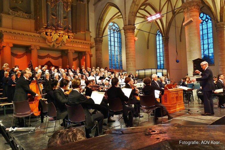 Alkmaarse Oratorium Vereniging geeft concert in De Grote Kerk