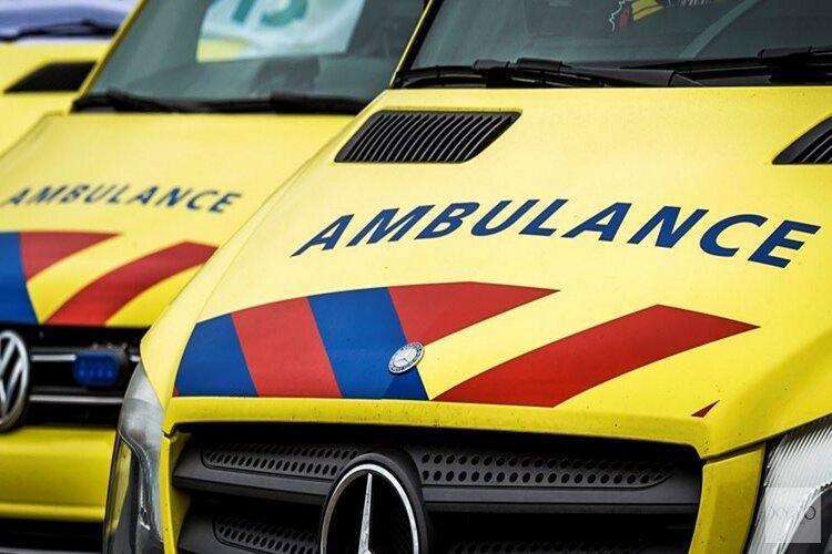 Vrouw in rolstoel gewond na aanrijding met auto in Sint Pancras