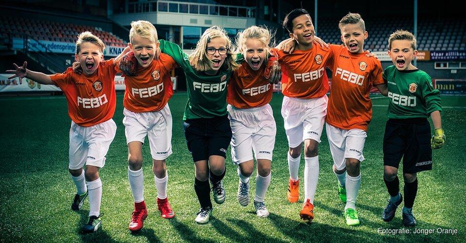 Jonger Oranje Talentendag met AZ bij Fortuna Wormerveer