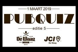 JCI de Waag Pubquiz: smullen, spelen en schateren voor het goede doel