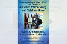 Workshop Werbeck Zang met Christiaan Boele