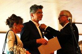 Pierre Sponselee geëerd met ere-insigne in goud van de stad Alkmaar