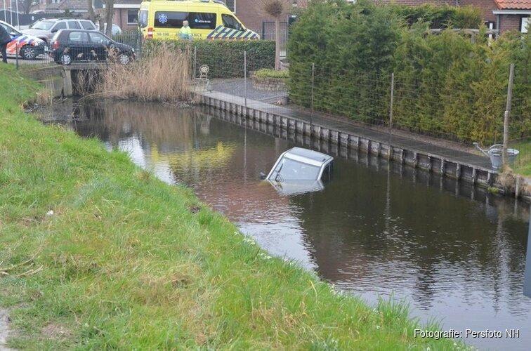 Man te water geraakt in Alkmaar