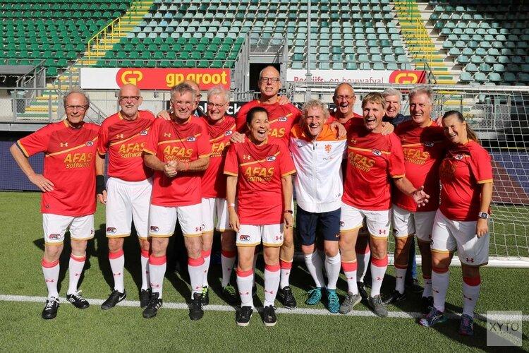 Donderdag kick-off OldStars Walking Football bij Alkmaarsche Boys