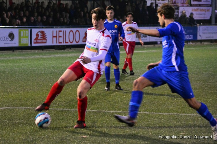 Laatste Heilooër derby een prooi voor HSV