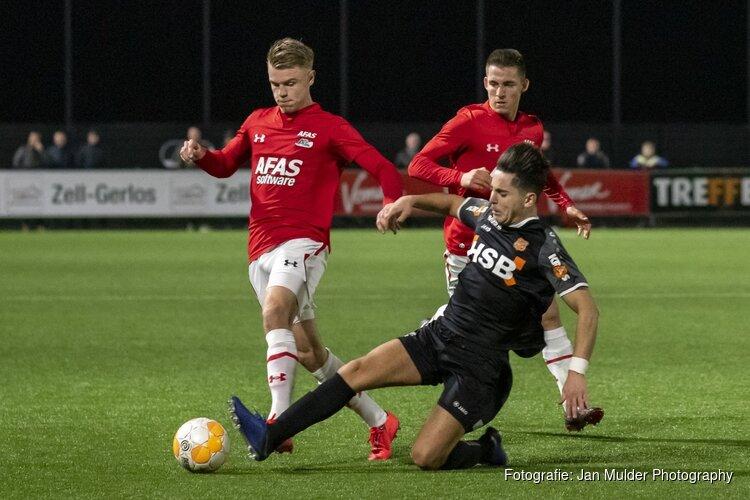 Jong AZ en FC Volendam delen de punten