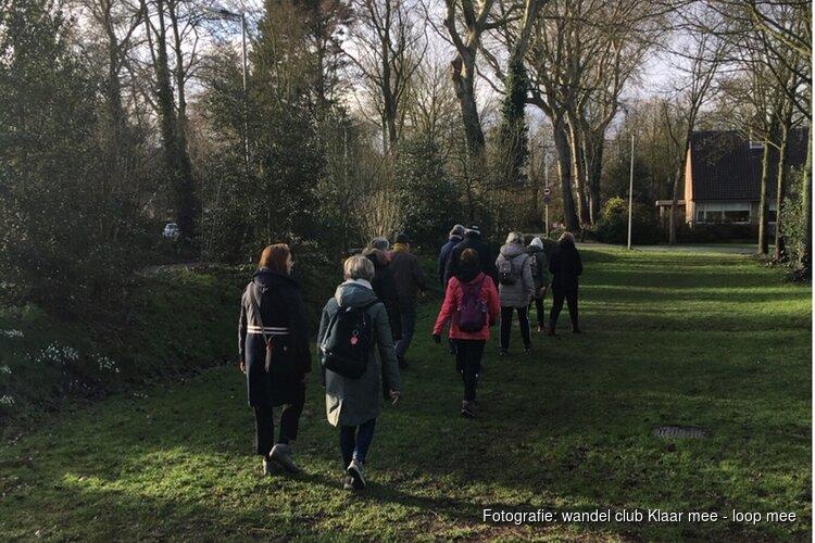 Steeds meer mensen vinden hun weg naar wandel club Klaar mee - loop mee