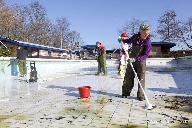 Zwembad de Bever doet mee met Nederland Doet