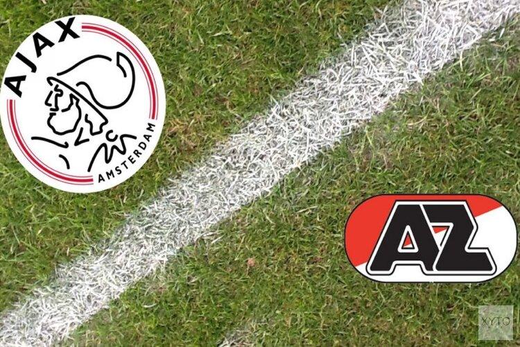 Puntendeling bij Jong Ajax-Jong AZ