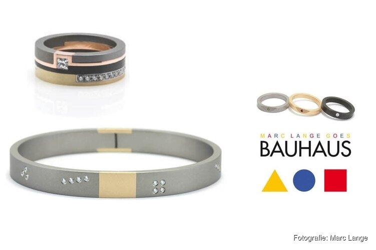 Nieuwe sieradencollectie Marc Lange eert Bauhaus