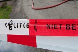 Tractor ramt muur bouwbedrijf in Alkmaar bij inbraak