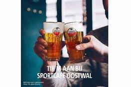 Kermis Sint Pancras bij sportcafé De Oostwal