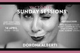 Derde editie Victorie Sunday Sessions met Dorona Alberti (Gare du Nord) op 14 april in Podium Victorie