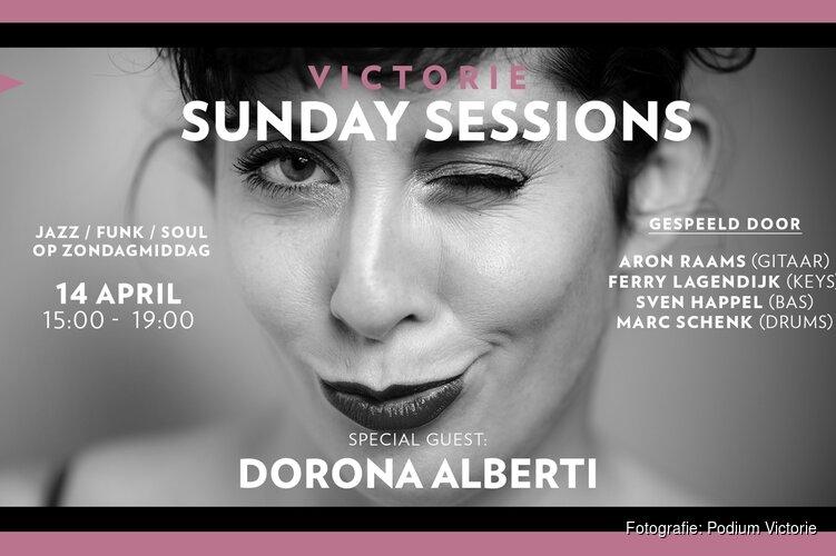 Derde editie Victorie Sunday Sessions met Dorona Alberti (Gare du Nord) op 14 april in Podium Victorie